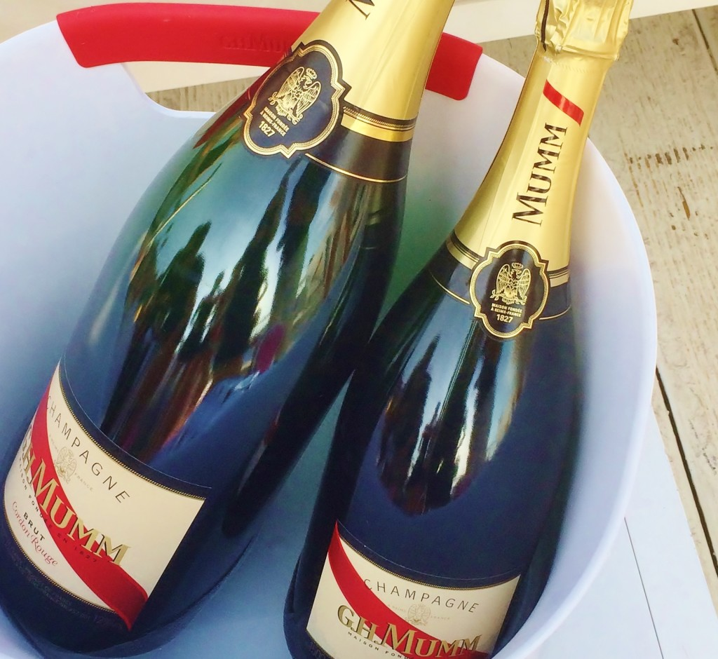 The Parisian Man Mumm Champagne