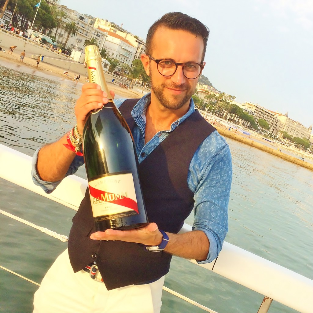 The Parisian Man Mumm Champagne
