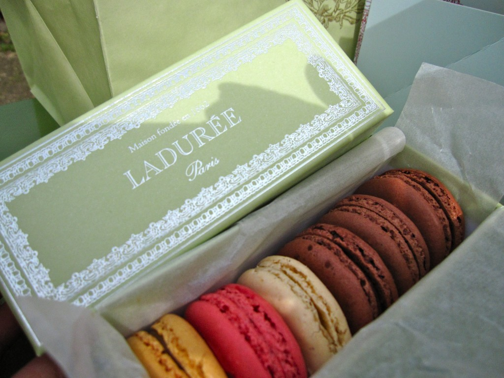 Macarons Laduree The Parisian Man