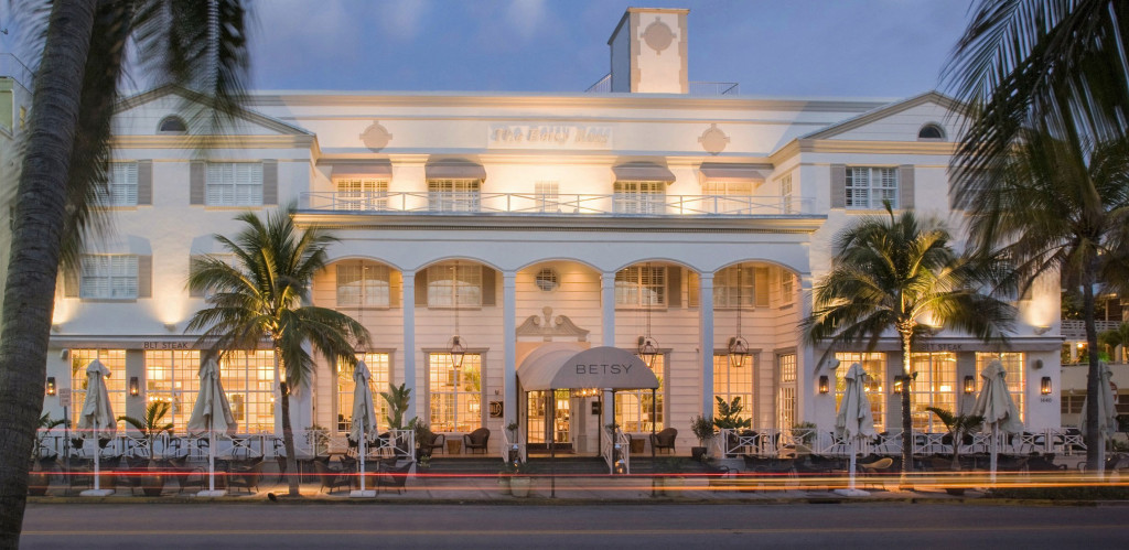 The Betsy Hotel Miami facade