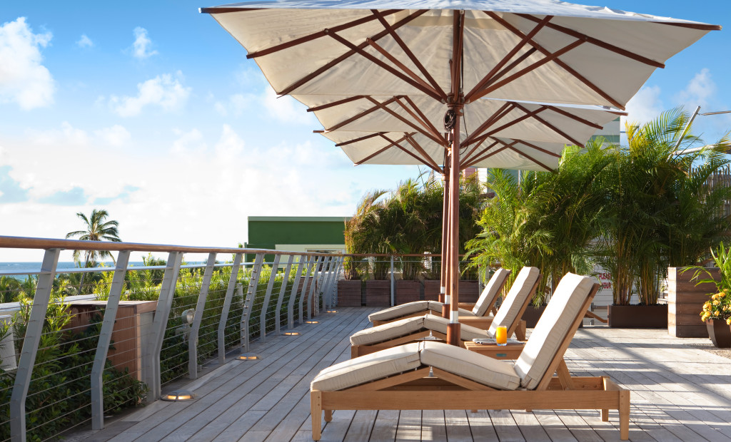 The Betsy Hotel Miami rooftop